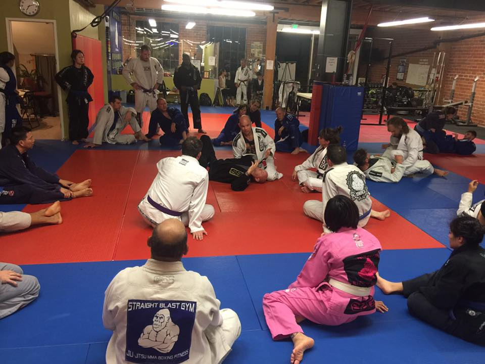 Jiu jitsu classes